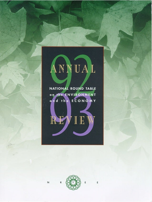 Nrt annual-report-1992-1993-eng