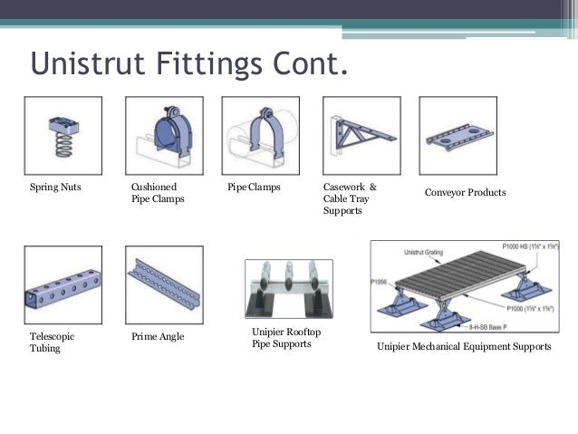 Nsa1214 Unistrut Metal Framing