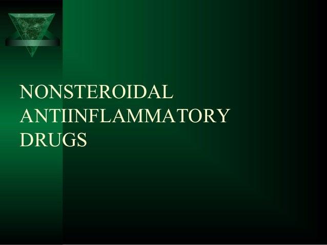 NONSTEROIDAL ANTIINFLAMMATORY DRUGS