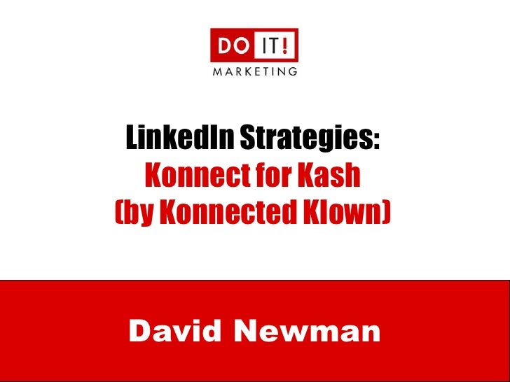 NSA LinkedIn with Konnected Klown