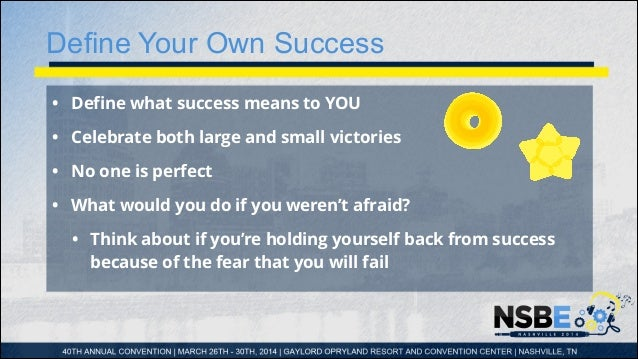 What is your personal definition of success?