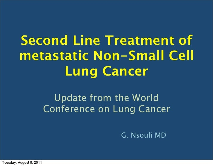 Nsclc 2nd line