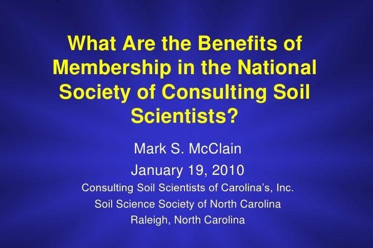 NSCSS Benefits