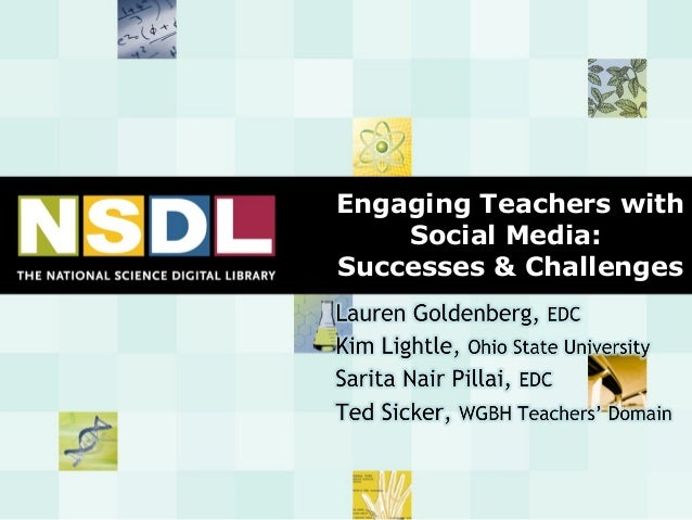Engaging Teachers with Social Media: Successes & Challenges