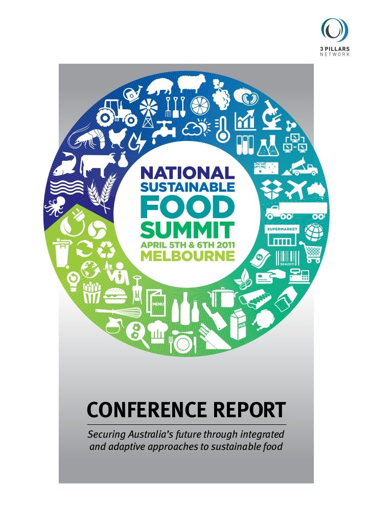 National Sustainable Food Summit Conference Report