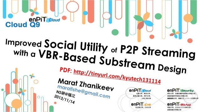 Improved Social Utility of P2P Streaming with a VBR-Based Substream Design