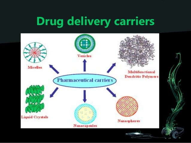 nanotechnology based drug delivery systems The national nanotechnology initiative expects new commercial applications in the pharmaceutical industry that may include advanced drug delivery systems, new therapies, and in vivo imaging nanomedicine research is receiving funding from the us national institutes of health common fund program, supporting four nanomedicine.