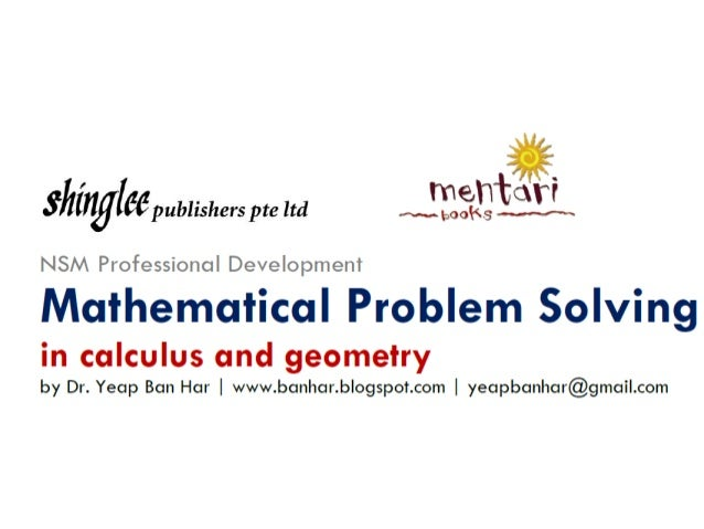 NSM in Jakarta Problem Solving in Geometry and Calculus