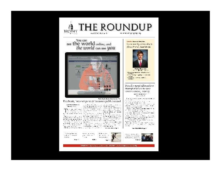 Features: single stories                    Harbinger, Shawnee Mission East HS!