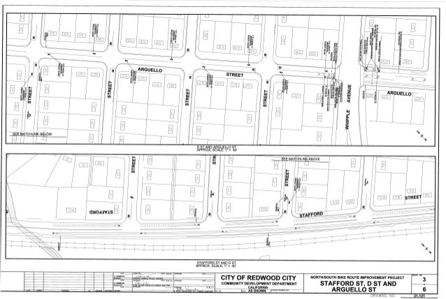 Redwood City North South Route Improvements 3