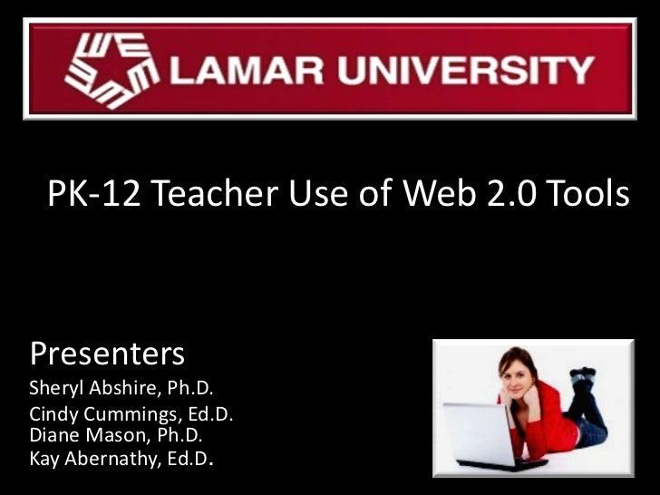 PK-12 Teacher Use of Web 2.0 Tools