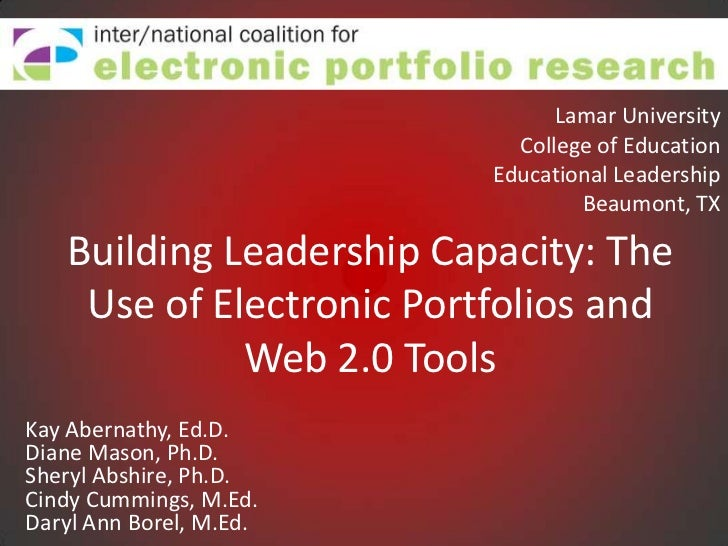 Lamar University<br />College of Education<br />Educational LeadershipBeaumont, TX<br />Building Leadership Capacity: The ...