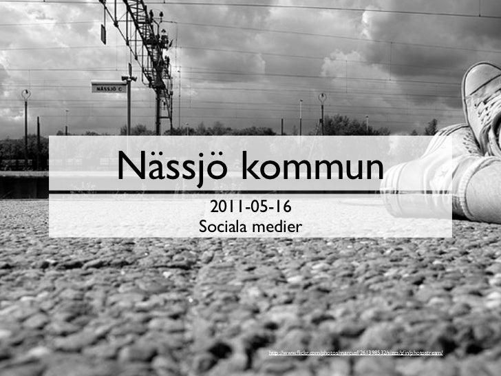 Sociala medier för offentlig verksamhet