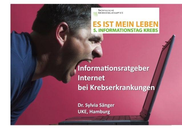 Ins$tut  und  Poliklinik  für  Medizinische  Psychologie  Universitätsklinikum  Hamburg-‐Eppendorf  Direktor:  Prof.  Dr....