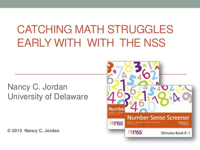 Catching Math Struggles Early with the Number Sense Screener™