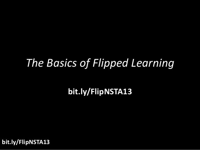 Flipped Class at NSTA