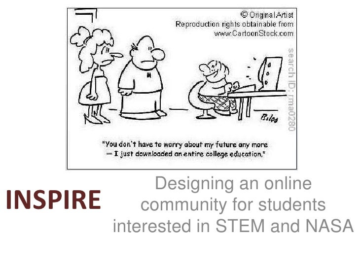 INSPIRE<br />Designing an online community for students interested in STEM and NASA<br />