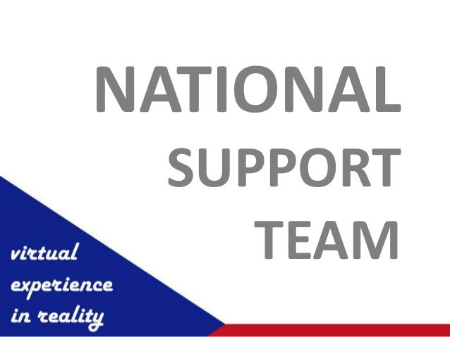 NATIONAL SUPPORT    TEAM