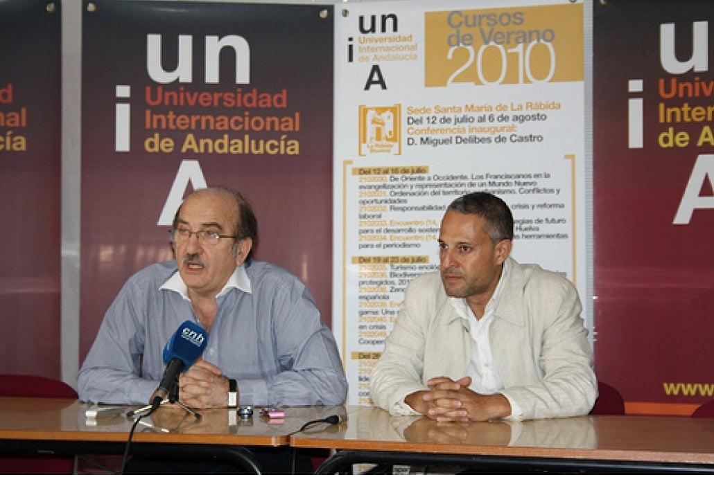 Néstor Braidot (Director Curso) y Xavier Borràs (Ponente).