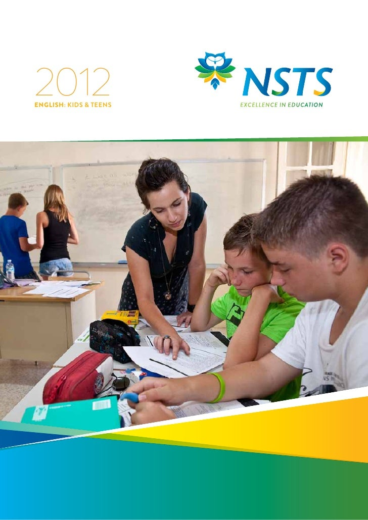 English Study for Kids & Teens in Malta at NSTS - 2012