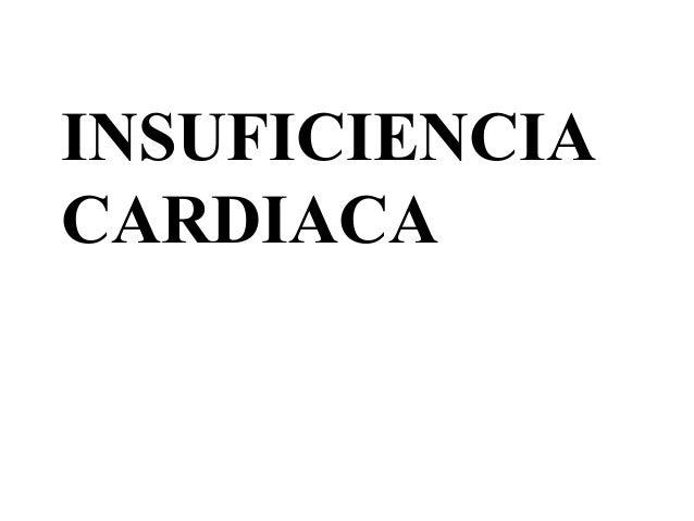 insuficinecia cardiaca