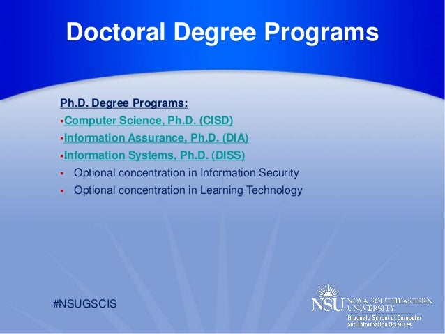 Northcentral university online phd