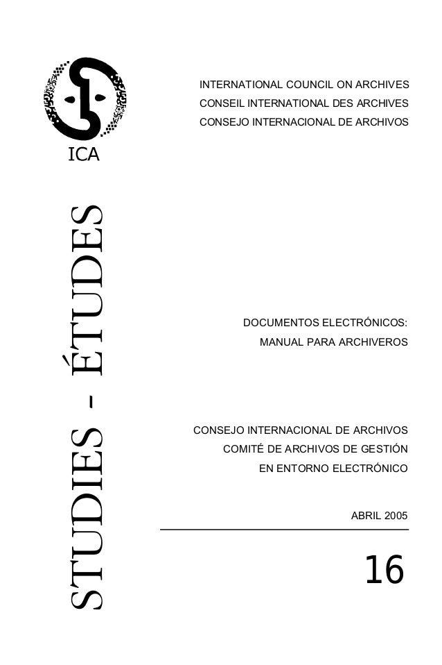documentos elec. n 16 (4)       23/6/06 11:32   Página 3                                            INTERNATIONAL COUNCIL ...