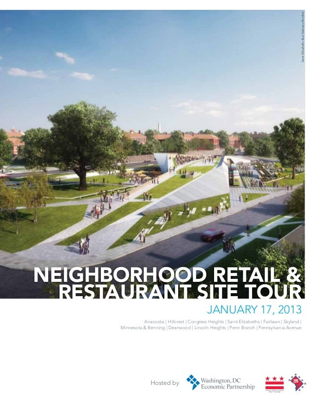 Saint Elizabeths East Gateway PavilionNeighborhood retail &  Restaurant site Tour                                         ...