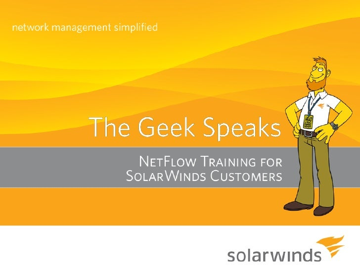 "Introduction  A big ""Howdy"" from SolarWinds   based in Austin, Texas    » Josh Stephens, Head Geek, Monster Blogger,     ..."