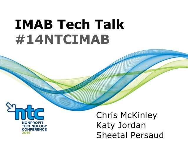 NTC 2014 IMAB tech talk 14.3.11 v3