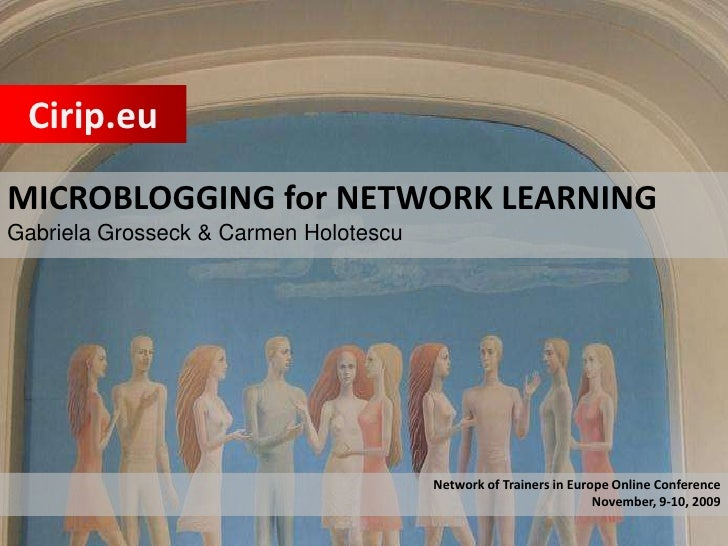 Microblogging for Networked Learning