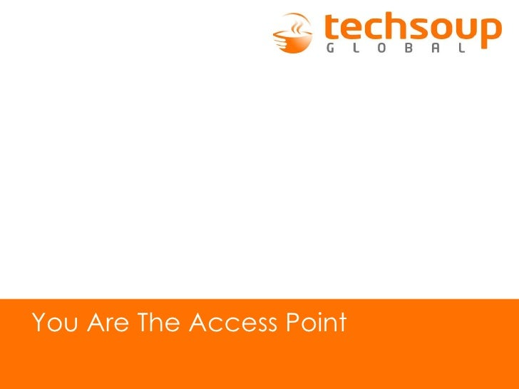 You Are The Access Point