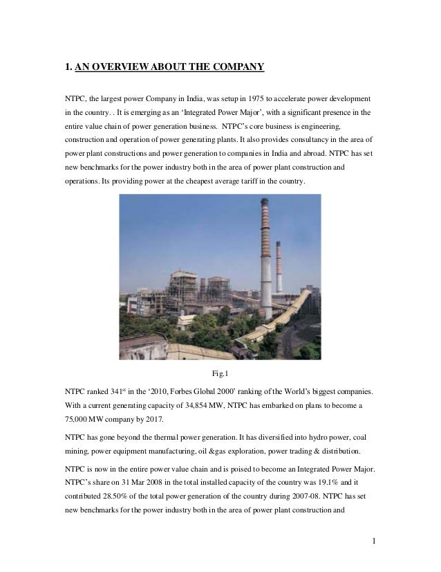 training and development project report in ntpc Individual goals and organization goals, in ntpc training programs are conducted depend on requirement also, in this while the project training canters (employee development canters) have specialized in imparting technical skills and knowledge, pmi places emphasis on management development besides.