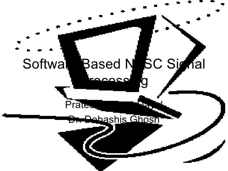 NTSC Software Decoding Presentation