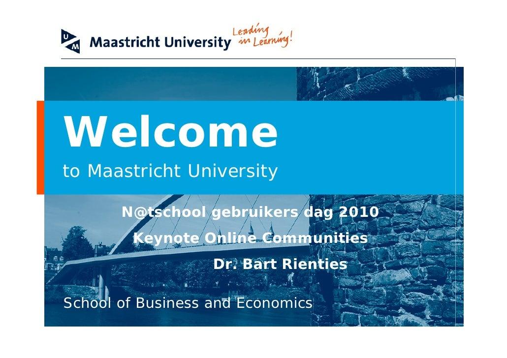 N@tschool keynote Bart Rienties_17-06-2010