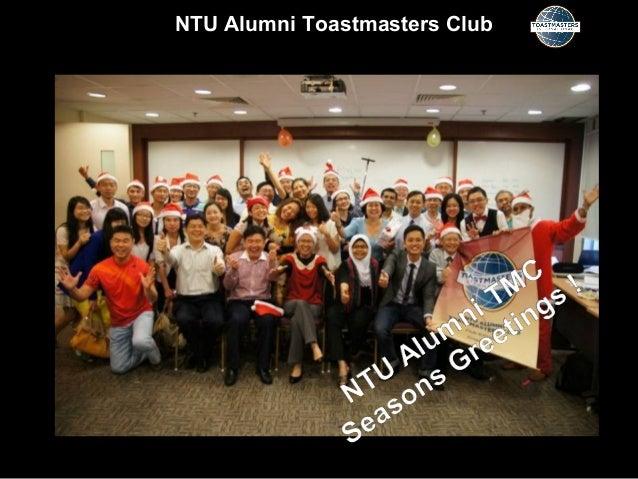 NTU Alumni Toastmasters Club