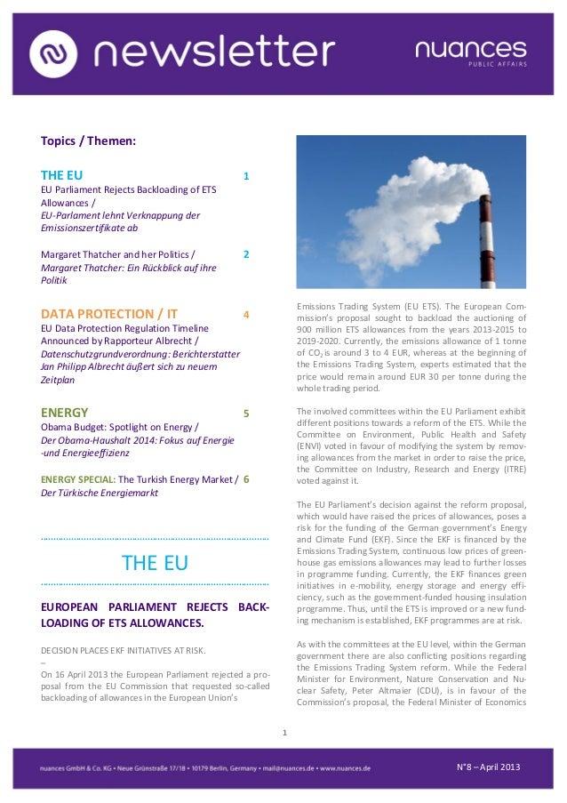nuances newsletter - April 2013