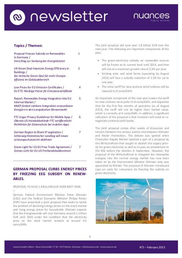 nuances newsletter - February 2013