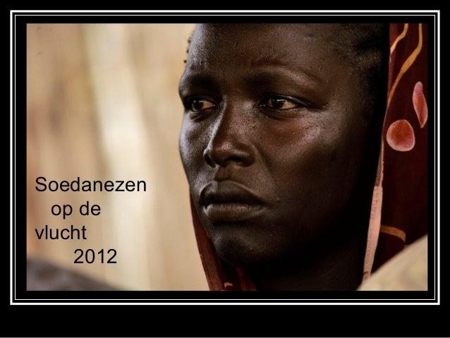 Soedanezen  op devlucht    2012