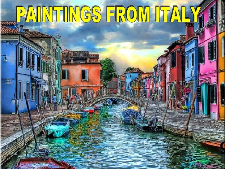 PAINTINGS FROM ITALY