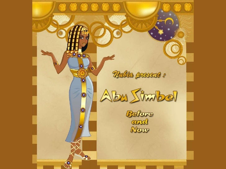 Abu Simbel Before and Now