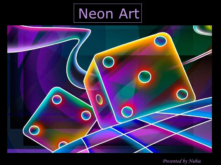 Neon Art Presented by Nubia