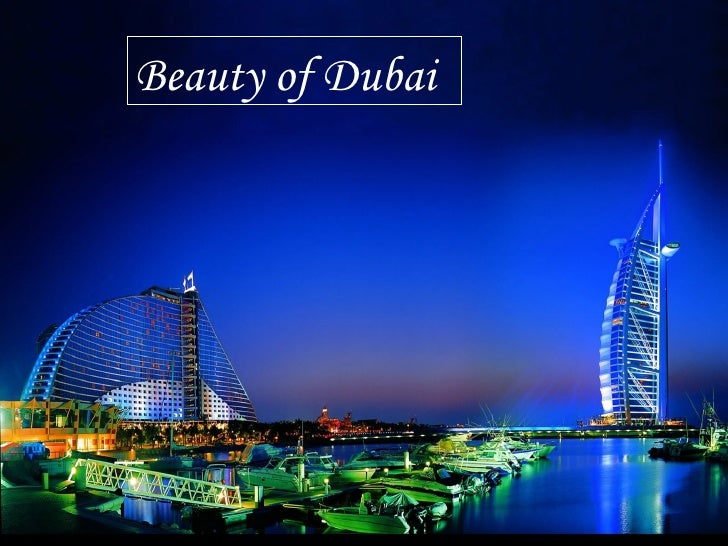 Beauty of Dubai