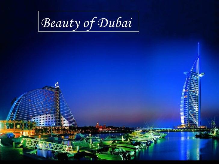 Beauty of Dubai