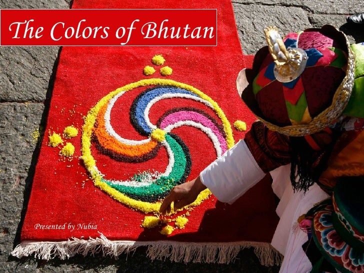 Colors of Bhutan