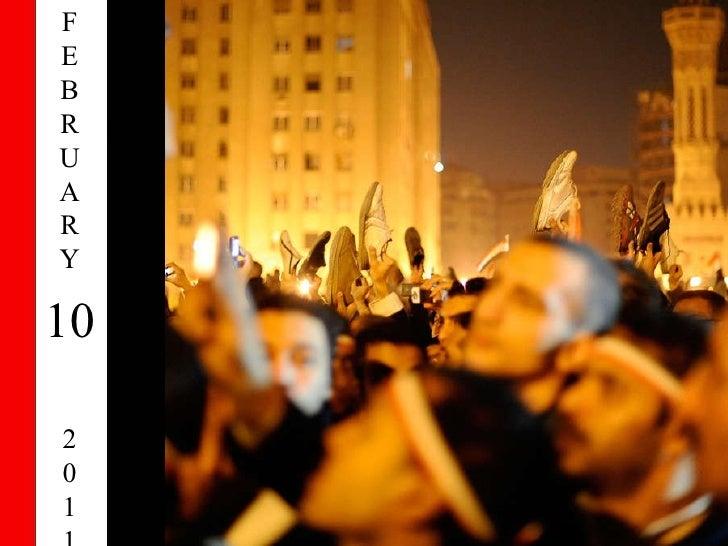 EGYPT : 2011-February 10