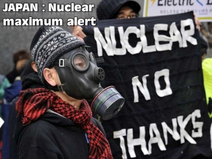 JAPAN -Maximum nuclear alert - march 30