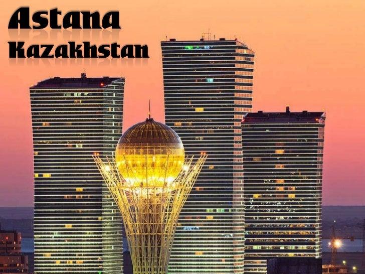 Astana city capital of the Republic of Kazakhstan