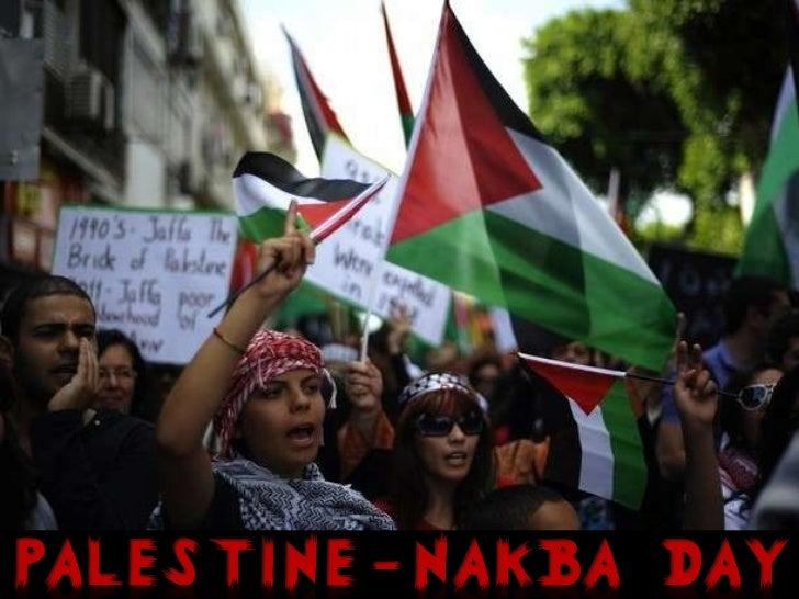 Palestine - Nakba Day