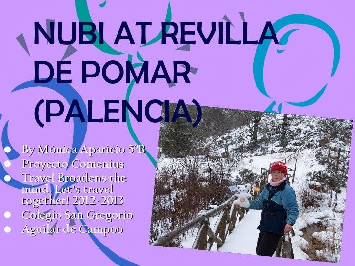 Nubi travels to Revilla de Pomar